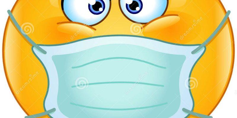 emoticon-con-la-maschera-medica-50367561